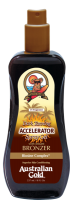 Australian Gold Dark Tanning Accelerator Spray Gel with bronzer 237 ml - SUPER AKCIA