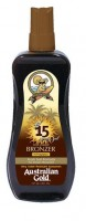 Australian Gold SPF 15 spray GEL s bronzer 237 ml
