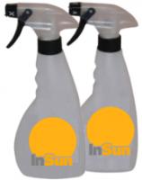 Fľaša s rozprašovačom pre solária