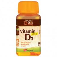 Vitamin D3 1.000 m.j. (25 mcg) - 60 cps - AKCE