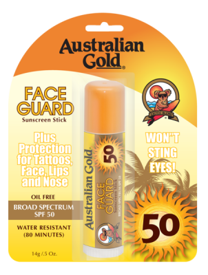 Australian Gold Face Guard Stick SPF 50 14g - VÝPREDAJ