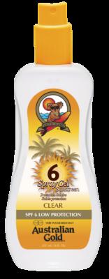 Australian Gold SPF 6 spray GEL 237 ml - VÝPREDAJ