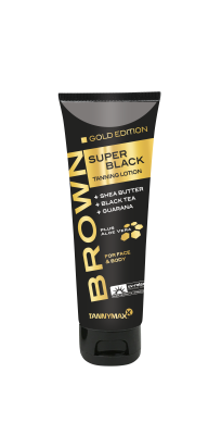 Tannymaxx Brown Super Black Gold Edition Tanning Lotion 125 ml