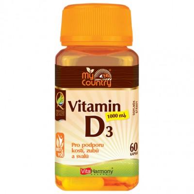 Vitamin D3 1.000 m.j. (25 mcg) - 60 cps - AKCIA
